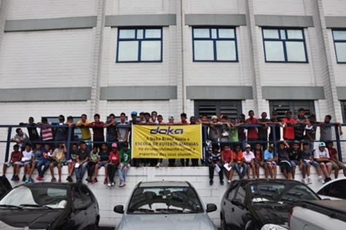 Fußballschule Sao Paulo